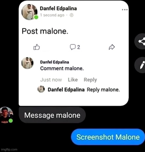 Repost malone | image tagged in post malone,memes,funny,not really a gif,reposts | made w/ Imgflip meme maker