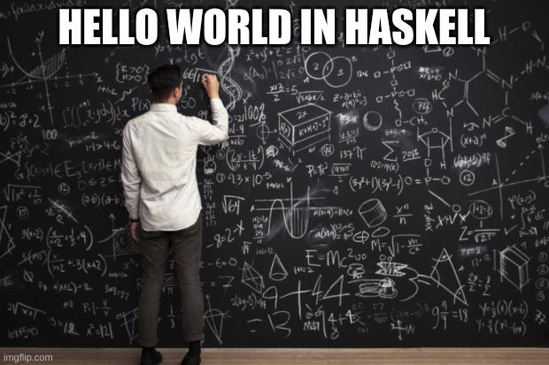 Haskell meme