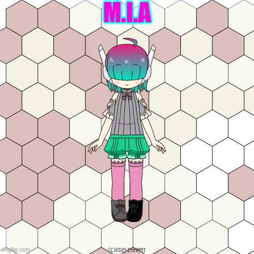"M.I.A (stands for ""Mechanical Industrial Animatronic"") 