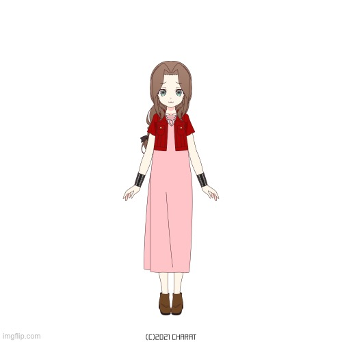 Aerith Gainsborough | made w/ Imgflip meme maker