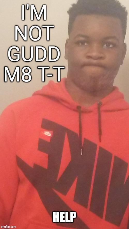 Im not gudd m8 T-T |  HELP | image tagged in im not gudd m8 t-t | made w/ Imgflip meme maker