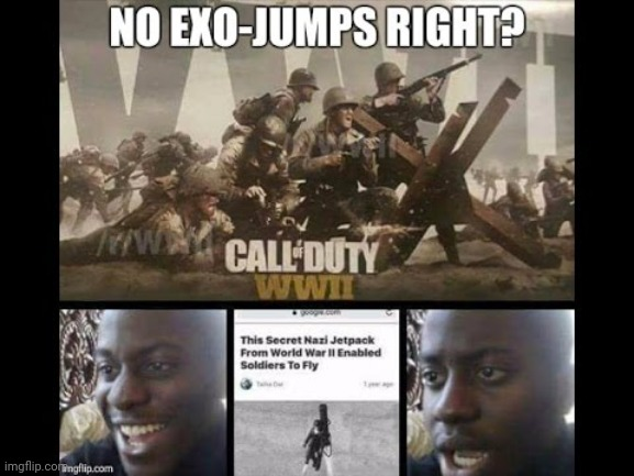 I'm four years late but.. | image tagged in call of duty | made w/ Imgflip meme maker