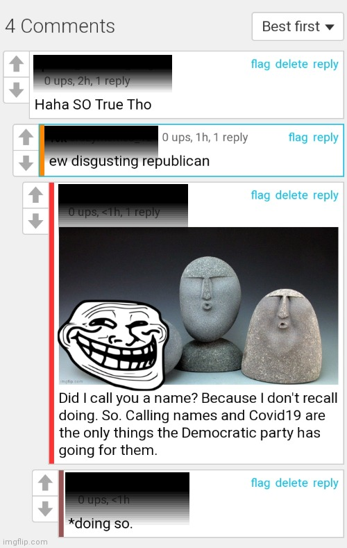 Read the Comments!!! | image tagged in politics | made w/ Imgflip meme maker
