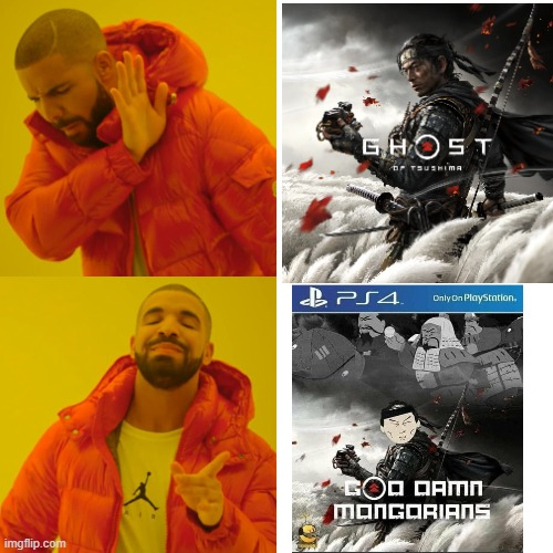 we need a number 2 | image tagged in ghost of tsuchima,drake | made w/ Imgflip meme maker