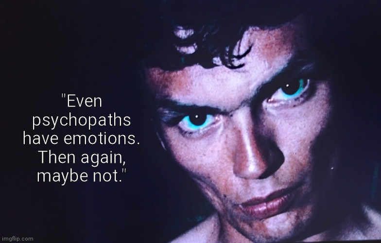 "The Night Stalker |  ""Even psychopaths have emotions. Then again, maybe not."" 
