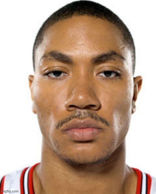 Derrick Rose Straight Face | image tagged in derrick rose straight face | made w/ Imgflip meme maker
