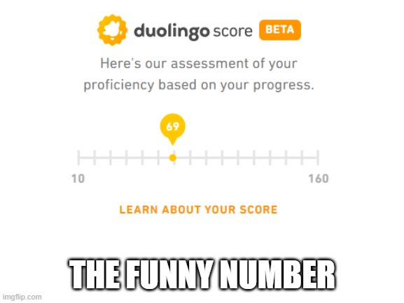 :D |  THE FUNNY NUMBER | image tagged in nice,69 | made w/ Imgflip meme maker