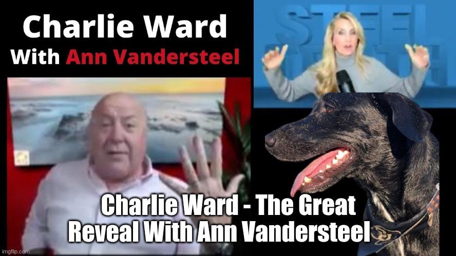 Charlie Ward - The Great Reveal With Ann Vandersteel    (Video)