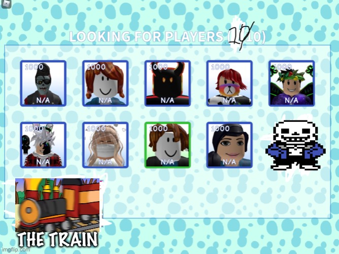 Meepcity 10th racer |  THE TRAIN | image tagged in meepcity 10th racer,trains,racing,sans,undertale | made w/ Imgflip meme maker