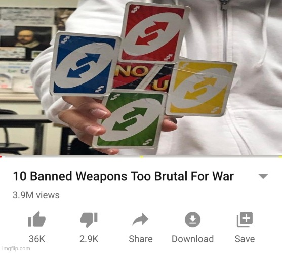 LMAOOOOO | image tagged in 10 banned weapons too brutal for war,oh wow are you actually reading these tags,memes,weapons,lmao | made w/ Imgflip meme maker