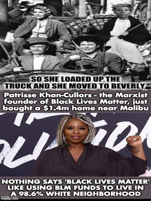 So she loaded up the truck! | image tagged in blm,stupid liberals,morons,idiots | made w/ Imgflip meme maker