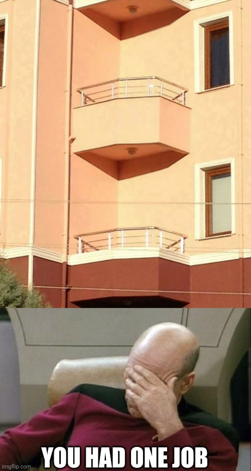 How do people get in and out of these? |  YOU HAD ONE JOB | image tagged in memes,captain picard facepalm,funny,fails,design fails | made w/ Imgflip meme maker