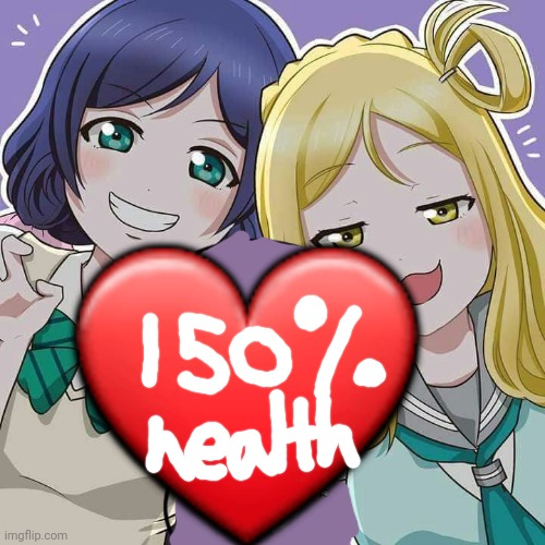 Have a free waifu health upgrade! |  ❤ | image tagged in love live x henry stikmin,waifu,health,upgrade,love live | made w/ Imgflip meme maker