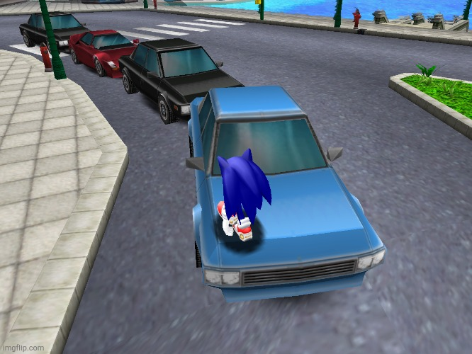 Sonic Adventure Cars | image tagged in sonic adventure cars | made w/ Imgflip meme maker