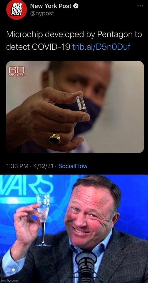 image tagged in memes,covid-19,covid19,coronavirus,pandemic,alex jones | made w/ Imgflip meme maker