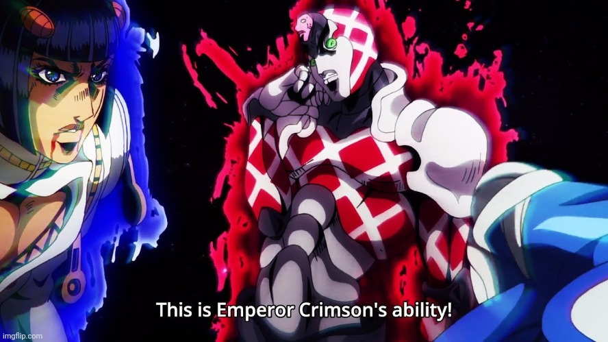 King Crimson`s ability | image tagged in king crimson s ability | made w/ Imgflip meme maker