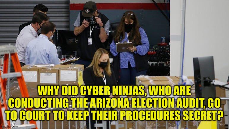 politics cyber ninjas Memes & GIFs - Imgflip