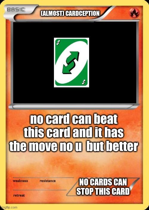 Blank Pokemon Card Memes - Imgflip