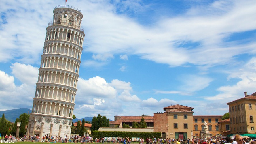 Leaning tower | image tagged in leaning tower | made w/ Imgflip meme maker