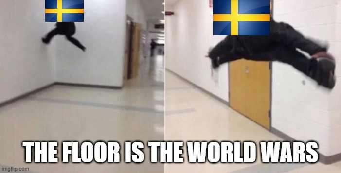 Lol |  THE FLOOR IS THE WORLD WARS | image tagged in the floor is | made w/ Imgflip meme maker