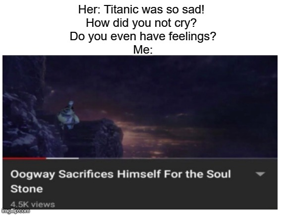 "*sniff* ""who's chopping onions?"" 