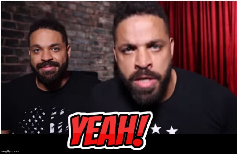 HODGE TWINS YEAH | image tagged in hodge twins yeah | made w/ Imgflip meme maker