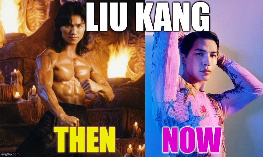 Liu kang downgrafe | image tagged in mortal kombat,mortal kombat x | made w/ Imgflip meme maker