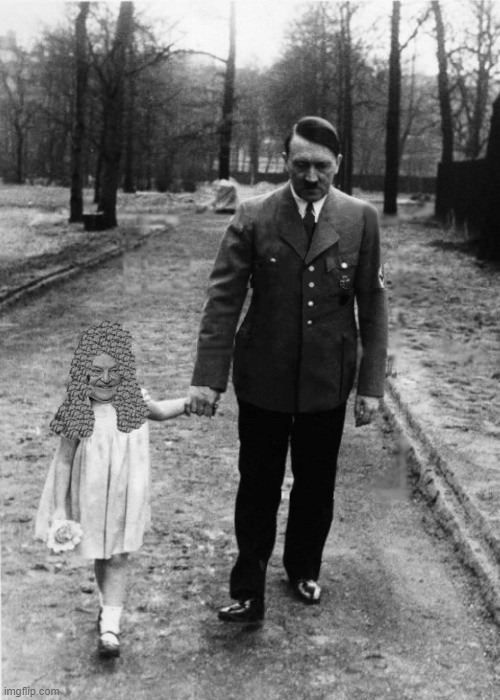 Rare 1939 photo of George Soros as a Female Child walking with some other guy. | image tagged in george soros,soros mentor | made w/ Imgflip meme maker