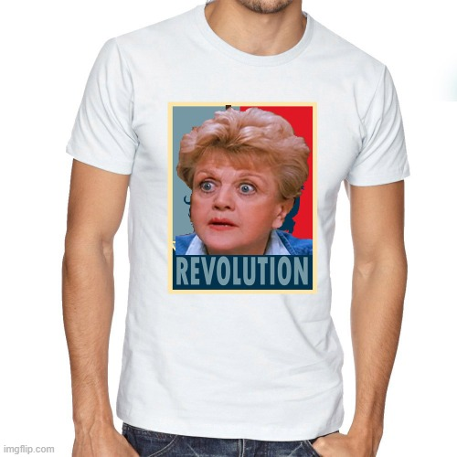 Looking at some old meme's in this stream and reading comments made me laugh at this idea. Instead of Che the Mass Murder Guy. | image tagged in che guevara,angela lansbury,the t shirt of morons,well at least the original,one | made w/ Imgflip meme maker