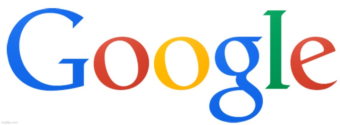 Best Google Logo | image tagged in old google logo | made w/ Imgflip meme maker