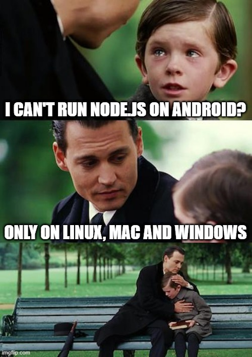 Run Node.js on Android
