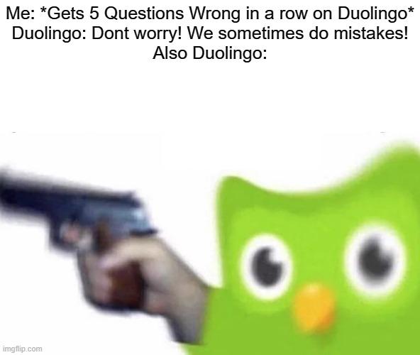Duolingo Gun