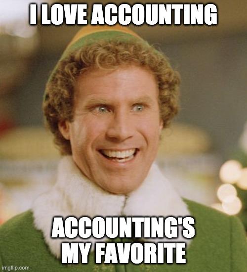 I love accounting!