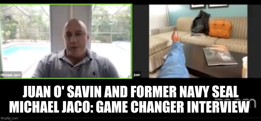 Juan O' Savin and Former Navy Seal Michael Jaco: Game Changer Interview  (Video)