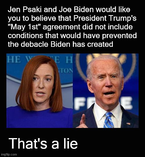 """Psaki and Biden are lying 