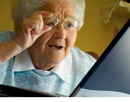 Image result for old woman squinting meme