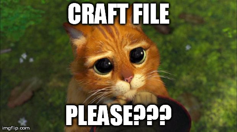 CRAFT FILE PLEASE??? | image tagged in catshrek | made w/ Imgflip meme maker