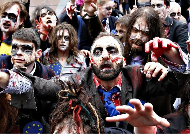 zombie culture The novelist's new book is about the undead and why they resonate in american culture post-9/11 – but there's nothing grim about his dazzling work.