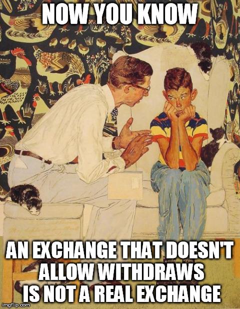 Bitcoin Exchange Mt. Gox Is Finished | Zero Hedge