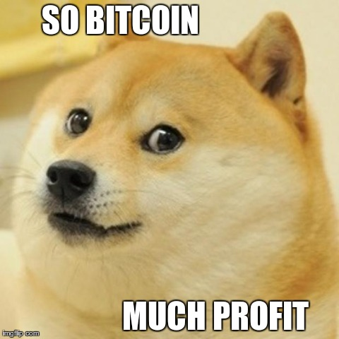 So Bitcoin Much Profit