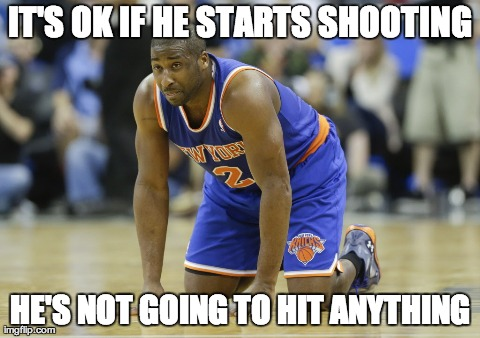 IT'S OK IF HE STARTS SHOOTING HE'S NOT GOING TO HIT ANYTHING | made w/ Imgflip meme maker