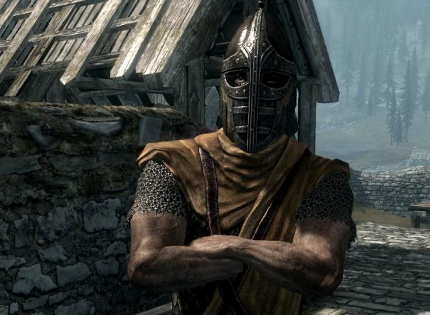 Skyrim guards be like Meme Generator - Imgflip