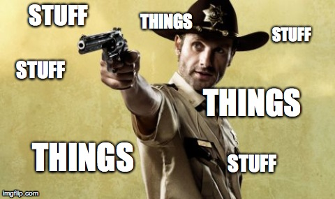 7nwed rick grimes meme imgflip,All The Things Meme Maker