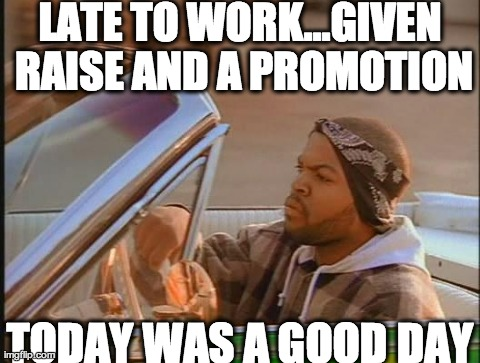 FORGET SUCCESS BABY...ICE CUBE GOOD DAY IS THE FUTURE