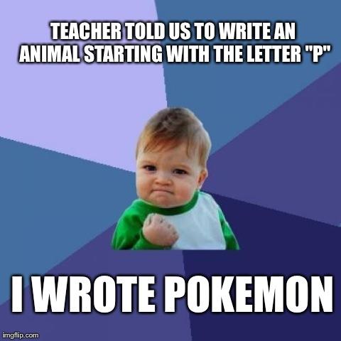 Animal Success Meme