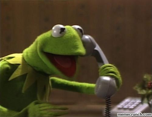 Kermit the frog meme blank - photo#34