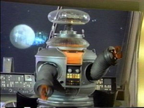 Image result for robot lost in space