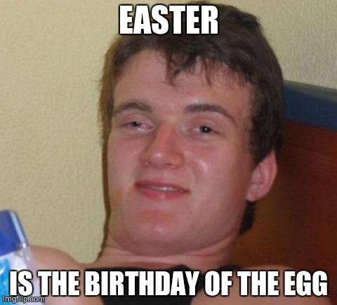87vd3 happy holidaze! imgflip,Happy Birthday Easter Meme