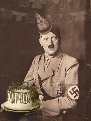 Adolf Hitler Birthday Cake