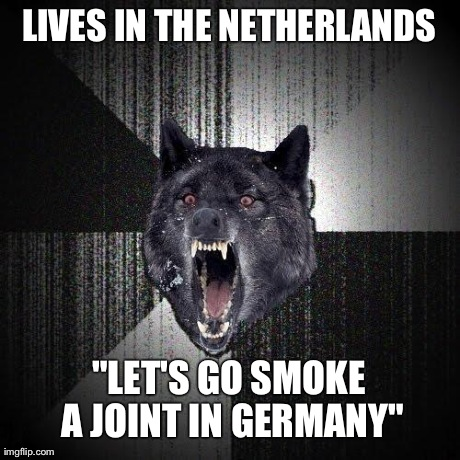 My Friend Lives Near The German Border